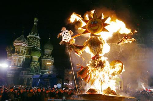 "Масленица ""La Maslenitsa"" El Carnaval Ruso"