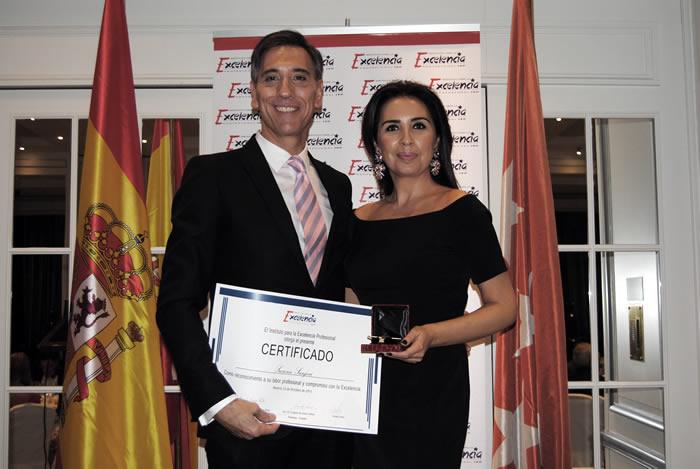 Susana Sanjose - premio excelencia