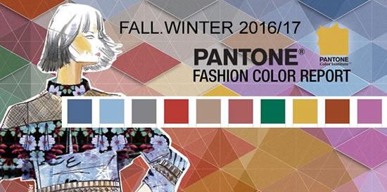 Moda colores temporada 2016