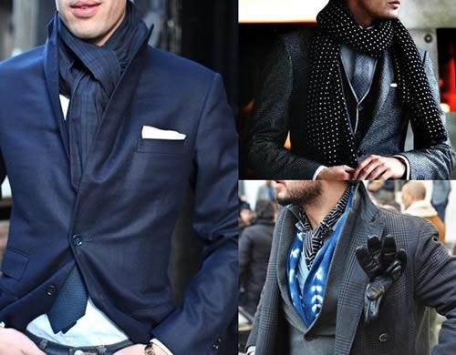 Bufandas para hombres 2016