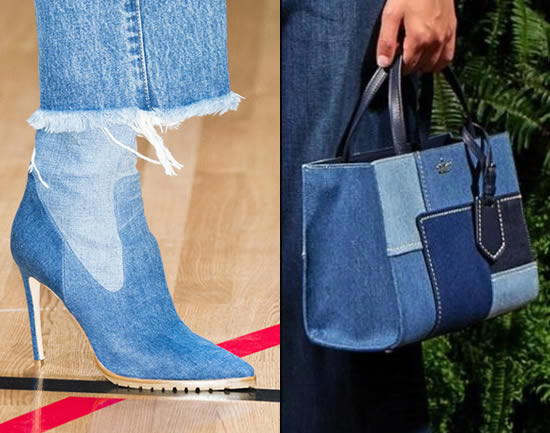 Tendencia botas denim 2018