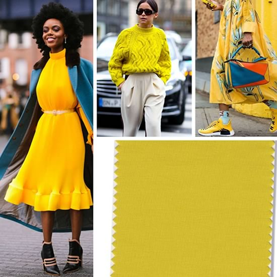 Pantone CEYLON YELLOW